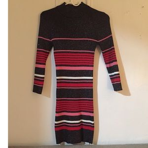 F21 Striped Sweater Dress
